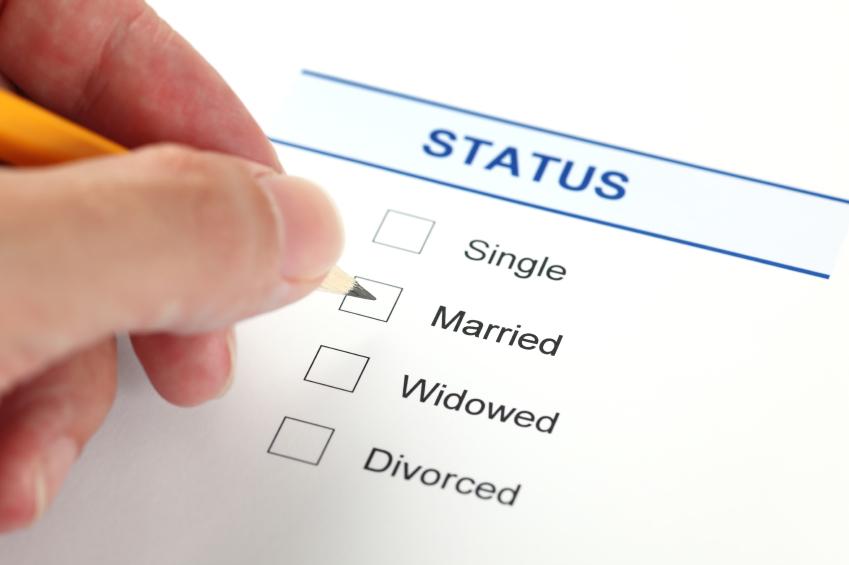 Family status form (Marital Status form)